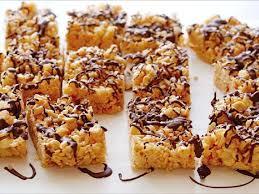 peanut butter crispy rice treats recipe food network kitchen