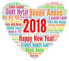 frohes neues jahr 2018 guten guten rutsch ins neue jahr 2018 in den verschiedenen sprachen
