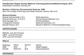 Nuclear Medicine Technologist Resume Examples by Technologist Resume Sample Nuclear Medicine Technologist Resume