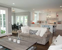 Living Room And Family Room Combo by Family Room Kitchen Combo Houzz