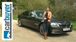 bmw 7 series saloon 2013 review carbuyer youtube