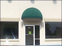 Awnings Atlanta Canvas Awnings Commercial Dome Awnings Doorways Windows