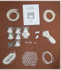 Roman Shade Hardware Kits - the bryce material is a paper based weave for natural roller