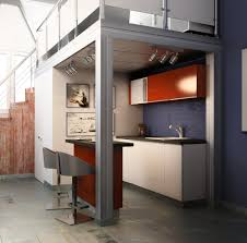 design of a kitchen interior design of the transport company office