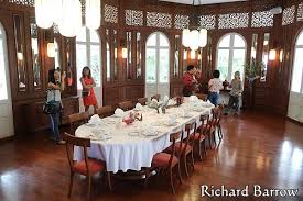 Ambassador Dining Room Visit The French Ambassador U0027s Residence In Bangkok U2013 Richard Barrow