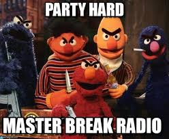 Party Hard Meme - party hard sesame street gangstas meme on memegen