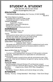 Resume Example For College Student by Best 25 Student Resume Ideas On Pinterest Resume Help Resume