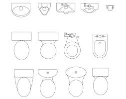 floor plan bathroom symbols ilet symbol floor plan gallery pinterest toilet