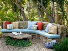 cheap unique stone bench design trend for backyard blogdelibros