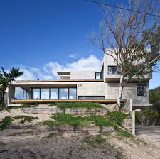 low maintenance concrete beach house