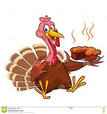 thanksgiving indian chief thanksgiving turkey chief cook serving pumpkin pie vector cartoon