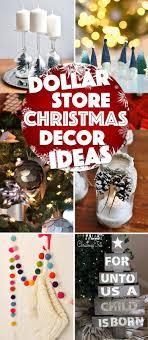 diyistmas decorations best dollar store decorating