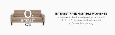 Sofa Beds Interest Free Credit by