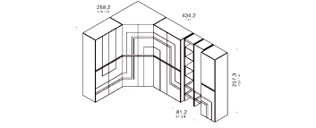 armadio angolare misure armadi su misura e misure standard