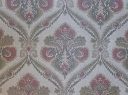 red brown grey damask wallpaper funkywalls dé webshop voor