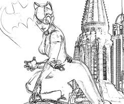 catwoman and batman sign coloring pages catwoman and batman sign