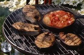 cuisine au barbecue thon grillé au barbecue