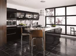 stunning black kitchen designs