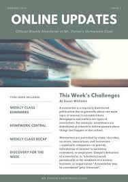 classroom newsletter templates canva
