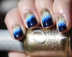 simple nail designs u0027 dip dye nails wickednails