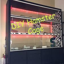how i built my diy hamster condo cage ikea kallax expedit hack