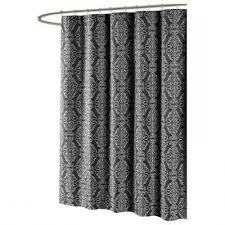 Black Ticking Curtains Vintage Ticking Stripe Shower Curtain With Ruffles 11 Color Black