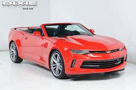 used chevrolet camaro convertible 2017 used chevrolet camaro camaro convertible lt rs package 20s