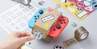 decorate pictures nintendo labo for the nintendo switch home gaming system decorate