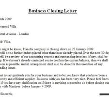Closing For A Business Letter by Best Closing For Business Letter U2013 Letter Format Writing