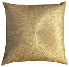 linen pillow with zari embroidery decorative pillows by cloud9