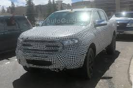 ranger ford 2019 2019 ford ranger spied testing high in the mountains autoguide