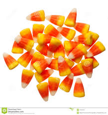 halloween candy corns isolated on white stock photo image 44319257