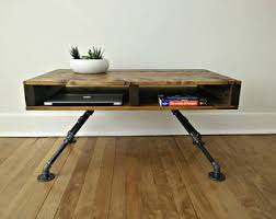 Pipe Coffee Table by Rustic Coffee Table Industrial Coffee Table Steel Pipe