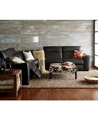 Reclining Sectional Sofas by Alessandro Leather Power Reclining Sectional Sofa Collection With