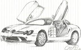mclaren drawing mercedes benz slr mclaren sketch by chrislah294 on deviantart