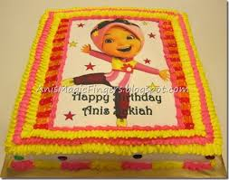 anis magic fingers taufan yaya boboiboy birthday cake