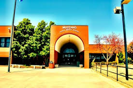 mustang middle mustang middle