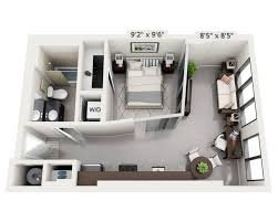 One Bedroom Apartment Plans by One Bedroom Apt 1 Bedroom Apartment House Plans 1 Bedroom