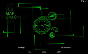 best clock live wallpapers android live wallpaper download