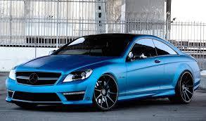 blue mercedes matte blue mercedes cl63 amg by r1 motorsport rides magazine