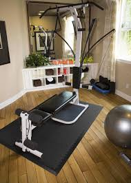 home exercise room decorating ideas floor diy home gym flooring stylish on floor and gray painted