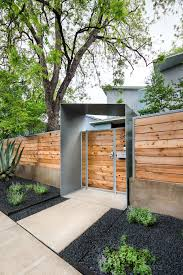 curb appeal ideas landscape contemporary with front gate metal