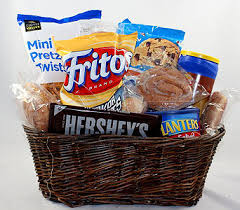 Junk Food Basket Snacks Fruit U0026 Gourmet Delivery Cary Nc Cary Florist