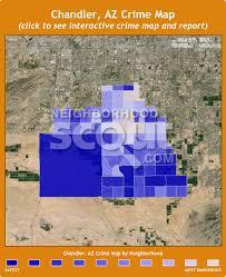 map of chandler az chandler az crime rates and statistics neighborhoodscout