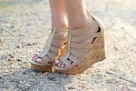 spring shoe trends wedges lauren mcbride
