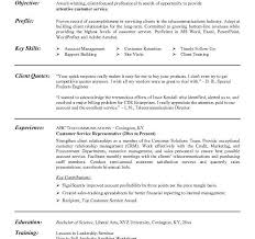 resume objective for customer service representative click here