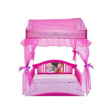 Disney Princess Toddler Bed With Canopy Toddler Canopy Bed Ebay