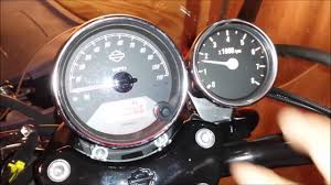 harley tach wiring motorcycle tachometers motorcycle speedometers