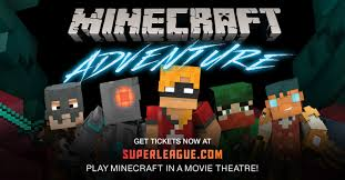 minecraft at the movies get your super league promo code here