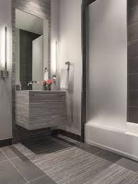 Grey Modern Bathroom Modern Gray Mosaic Tile Bathroom Contemporary Bathroom San